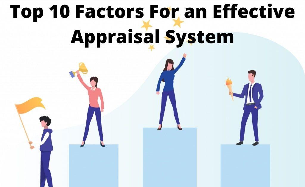 Effective Appraisal System